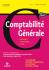 Comptabilité générale : les principes, les techniques et les outils