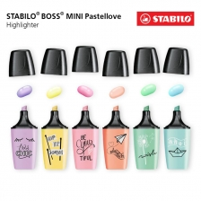 STABILO Boss Mini Pastel Love