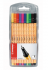 STABILO point 88 (0.4mm) Fineliner Pen (Pack of 10 Assorted Colours)